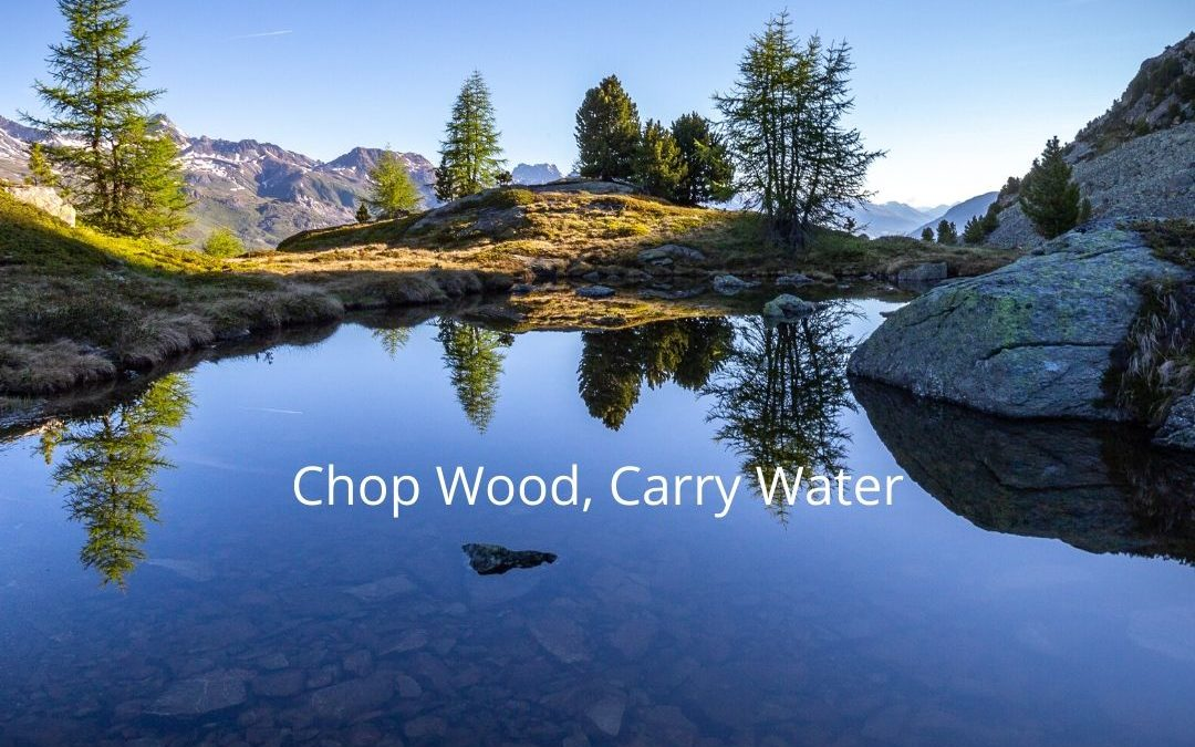 FULL MOON MARCH 9TH – Chop Wood, Carry Water